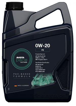 Avista Pace EVO Prime FE 0W-20