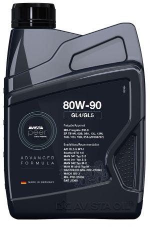 Avista Peer EVO Prime GL4/GL5 80W-90