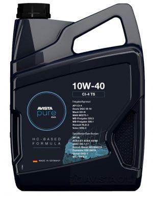 AVISTA Pure EVO CI-4 TS 10W-40