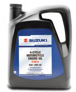 Suzuki Motorcycle Engine Oil 10W-40 4T