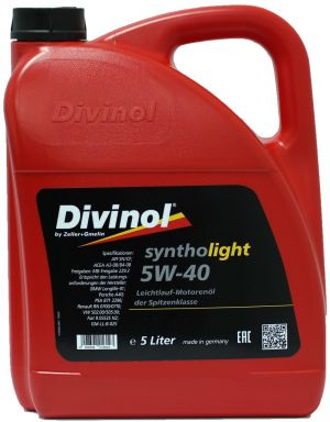DIVINOL Syntholight 5W-40