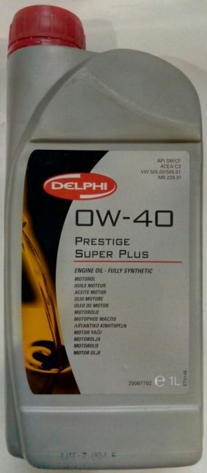 DELPHI PRESTIGE SUPER PLUS 0W-40