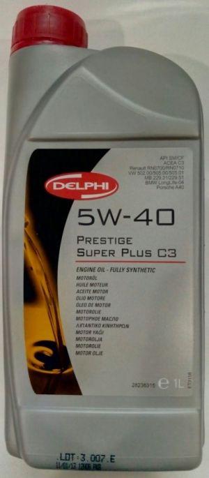 DELPHI PRESTIGE SUPER PLUS C3 5W-40