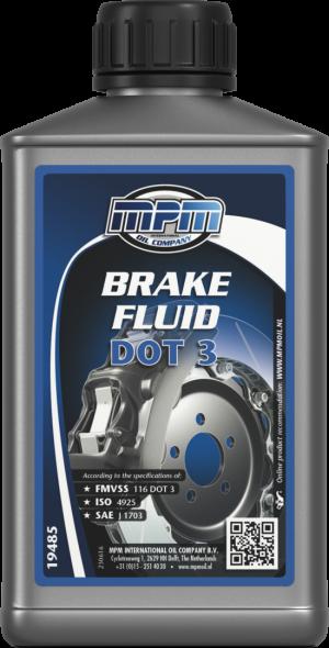 MPM Brake Fluid DOT 3