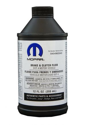 Mopar Brake & Clutch Fluid DOT-4