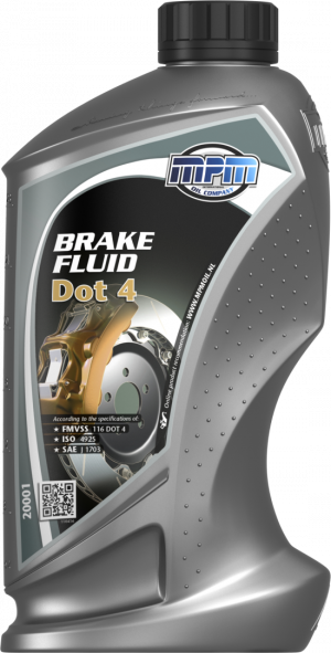 MPM Brake Fluid DOT 4