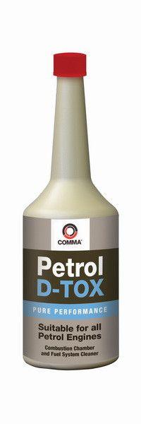 Присадка в бензин (Профилактика, октан - корректор) Comma Petrol D-TOX