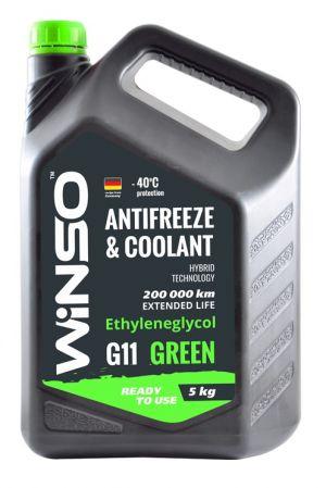 Winso Antifreeze & Coolant G11 (-40C, зеленый)
