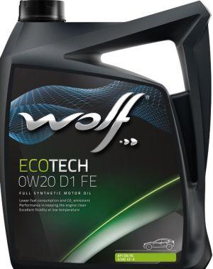 Wolf EcoTech 0W-20 D1 FE