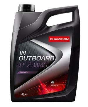 CHAMPION In-Outboard 4T 25W-40