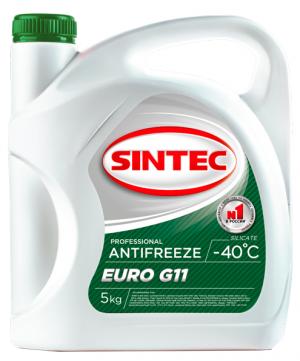 Sintec Antifreeze Euro G11 (-40C, зеленый)