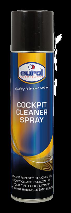 Полироль для приборной панели Eurol Cockpit Cleaner Spray