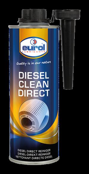 Присадка в дизтопливо (Очиститель топливной системы) Eurol Diesel Clean Direct