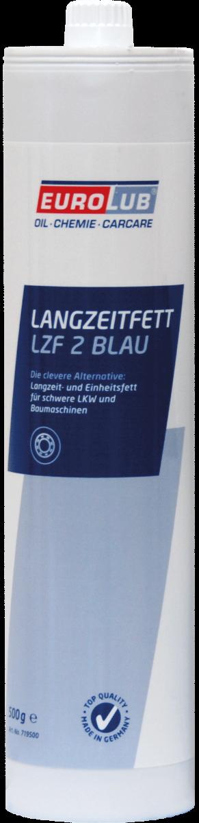 Многоцелевая смазка (литиевый загуститель) Eurolub Langzeitfett LZF 2 Blau