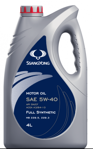 SsangYong Motor Oil SAE 5W-40