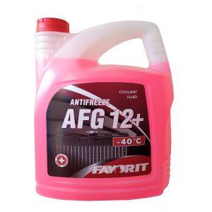 Favorit Antifreeze AFG 12+ (-40C, красный)