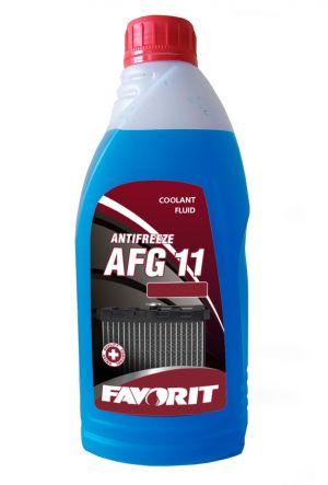 Favorit Antifreeze AFG 11 (-40C, синий)