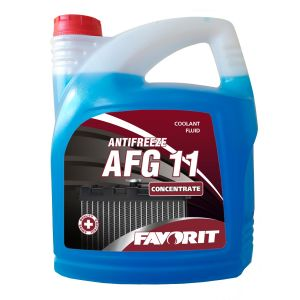 Favorit Antifreeze AFG 11 (-70C, синий)