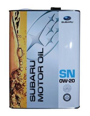Subaru Motor Oil 0W-20 SN