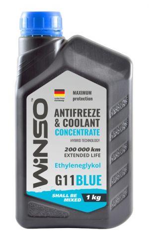 Winso Antifreeze & Coolant Concentrate G11 (-70C, синий)