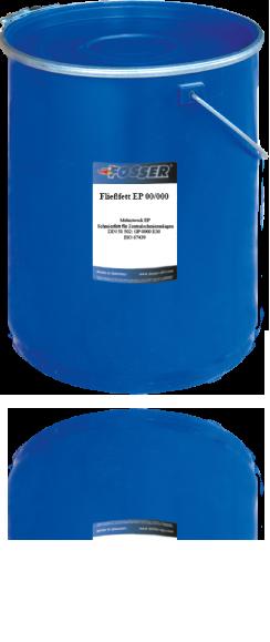 Многоцелевая смазка (литиевый загуститель) FOSSER Fließfett EP 00/000