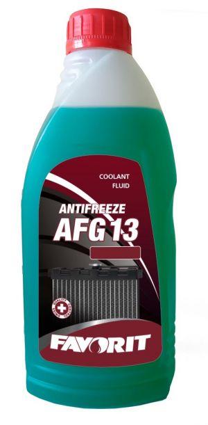 Favorit Antifreeze AFG 13 (-40C, зеленый)
