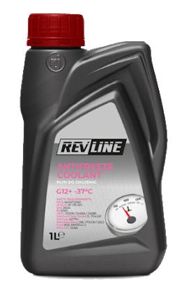 Revline Antifreeze Coolant G12+ (-37C, красный)