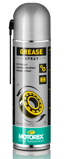 Смазка - спрей белая Motorex Grease Spray