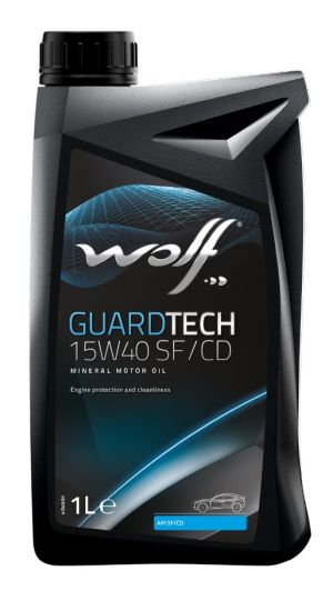 Wolf GuardTech 15W-40 SF/CD