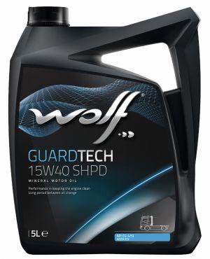 Wolf GuardTech 15W-40 SHPD