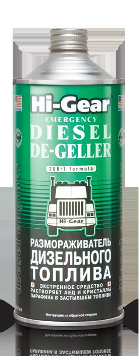 Присадка в дизтопливо (Размораживатель) Hi-Gear Diesel De-Geller