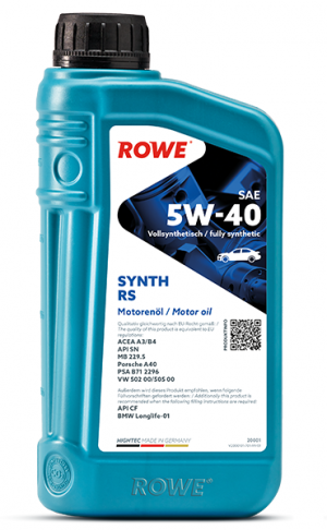 Rowe Hightec Synth RS 5W-40