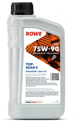 Rowe Hightec Topgear S 75W-90