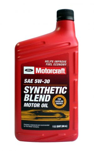 MOTORCRAFT 5W-30 Synthetic Blend Motor Oil