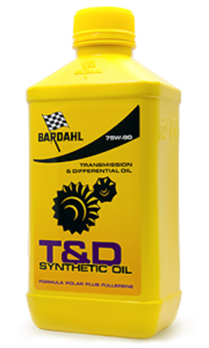 Bardahl T&D Synthetic Oil 75W-90
