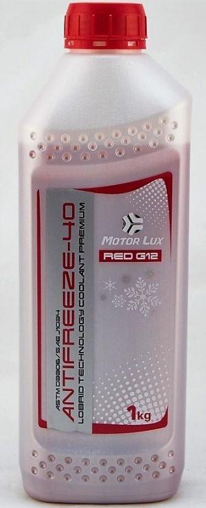 Motor Lux Antifreeze G12 (-40, красный)
