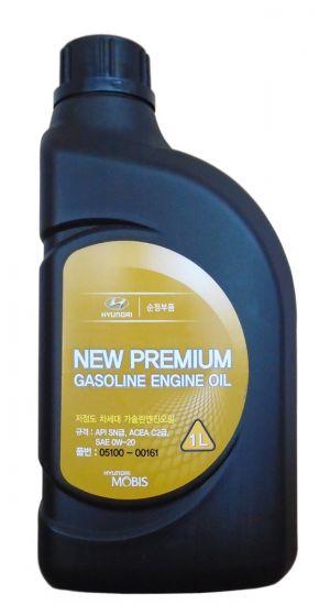 Hyundai/KIA New Premium Gasoline 0W-20