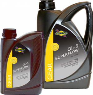 Sunoco Gear GL-5 Superflow 75W-90
