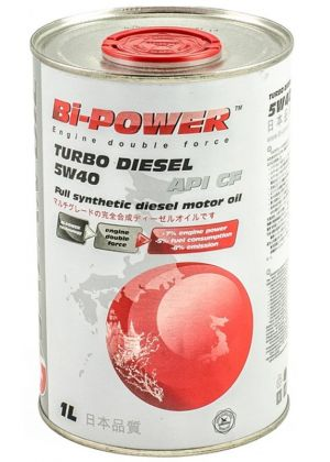 Bi-Power Turbo Diesel 5W-40