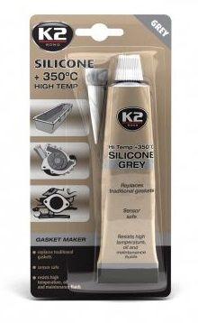 Герметик силиконовый (серый) K2 Silicone Grey