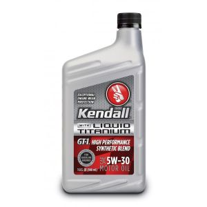 KENDALL GT-1 High Performance Synthetic Blend 5W-30