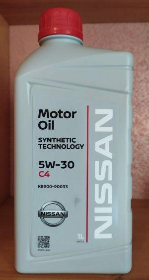 Nissan Motor Oil 5W-30 C4