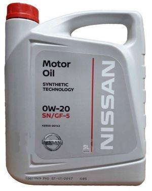 Nissan 0W-20 SN/GF-5