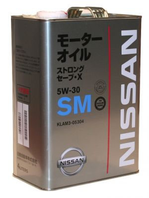 Nissan Strong Save X 5W-30 SM