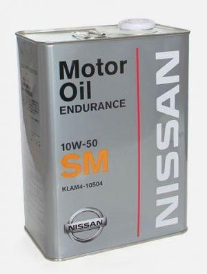 Nissan Motor Oil Endurance 10W-50 SM
