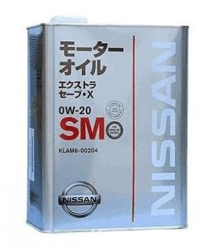 Nissan Extra Save X 0W-20 SM