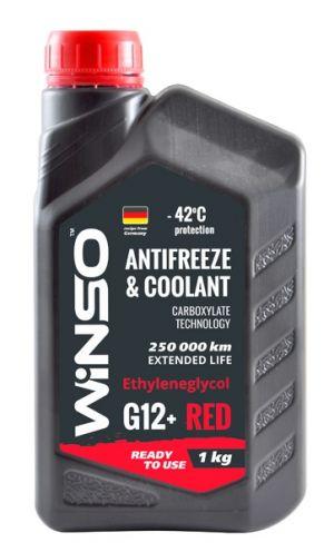 Winso Antifreeze & Coolant G12+ (-42C, красный)