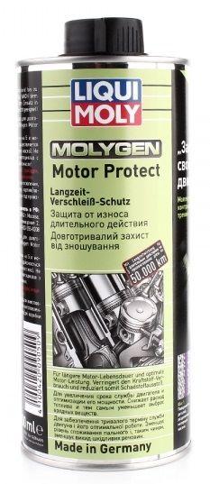 Присадка в масло моторное (молибден плюс вольфрам) Liqui Moly Molygen MotorProtect