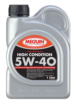 Meguin Megol High Condition 5W-40