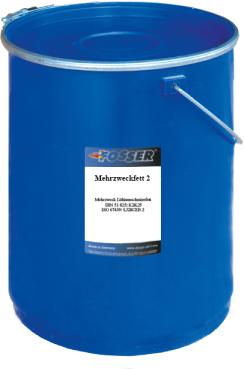 Многоцелевая смазка (литиевый загуститель) FOSSER Mehrzweckfett NLGI 2
